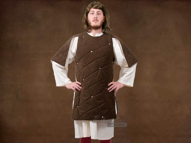 Camisa medieval hombre : Siglos V XIII : Alta edad media