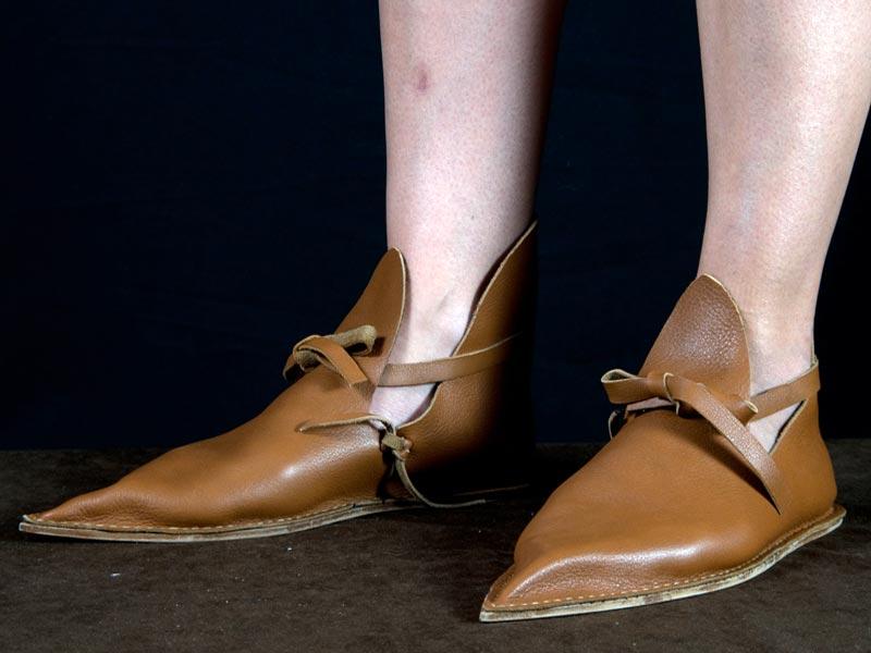 De Zapatos Época Entretelas Y Complementos Accesorios Siglo Xiii HX4H7w