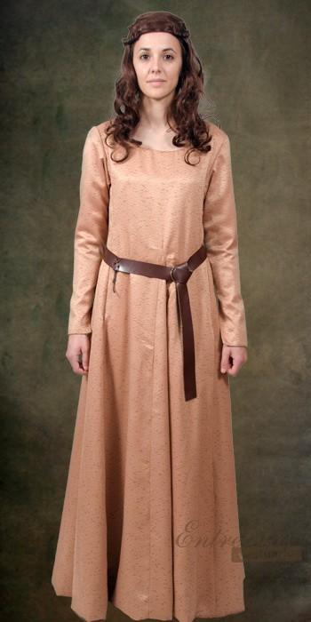 Brial siglos v xiii alta edad media era cristiana entretelas vestuario confecci n de - Ropa interior medieval ...